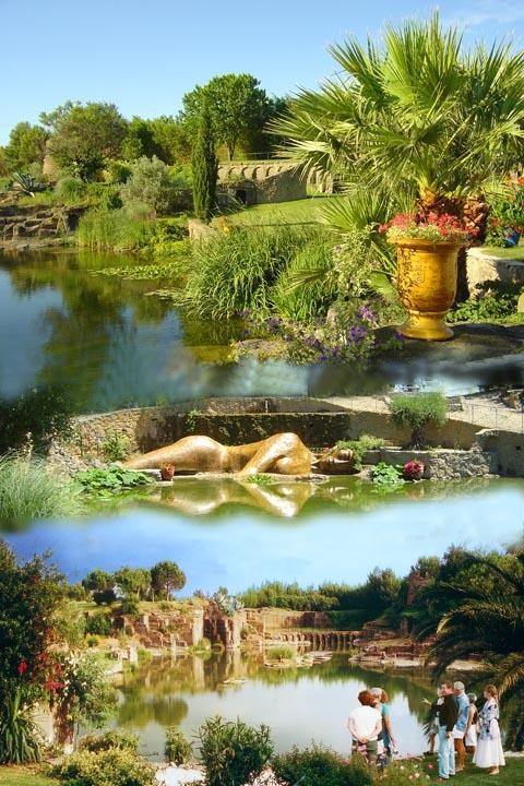 Les jardins de saint adrien servian camping municipal castelsec p zenas h rault - Les jardins de saint adrien ...
